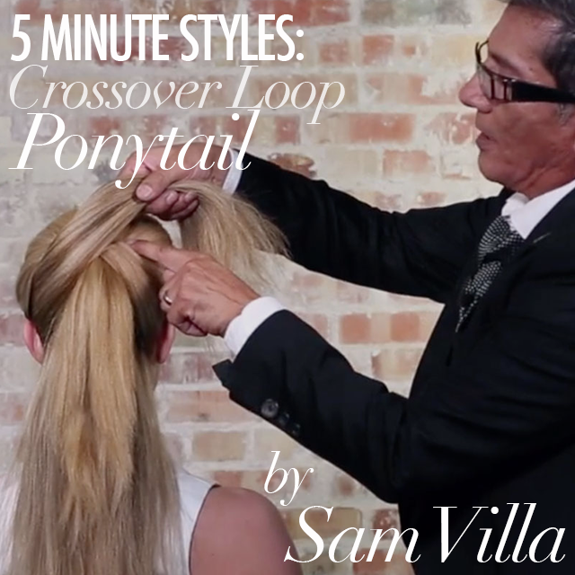 2073e889717c3d584552 5 minute hairstyles sam villa