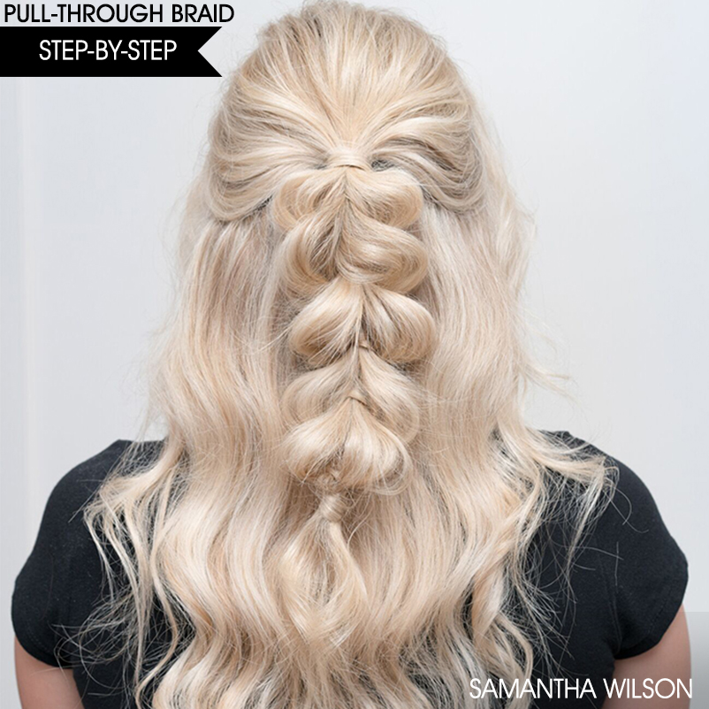 30c0c261fc6c86e4015b step by step pull through braid
