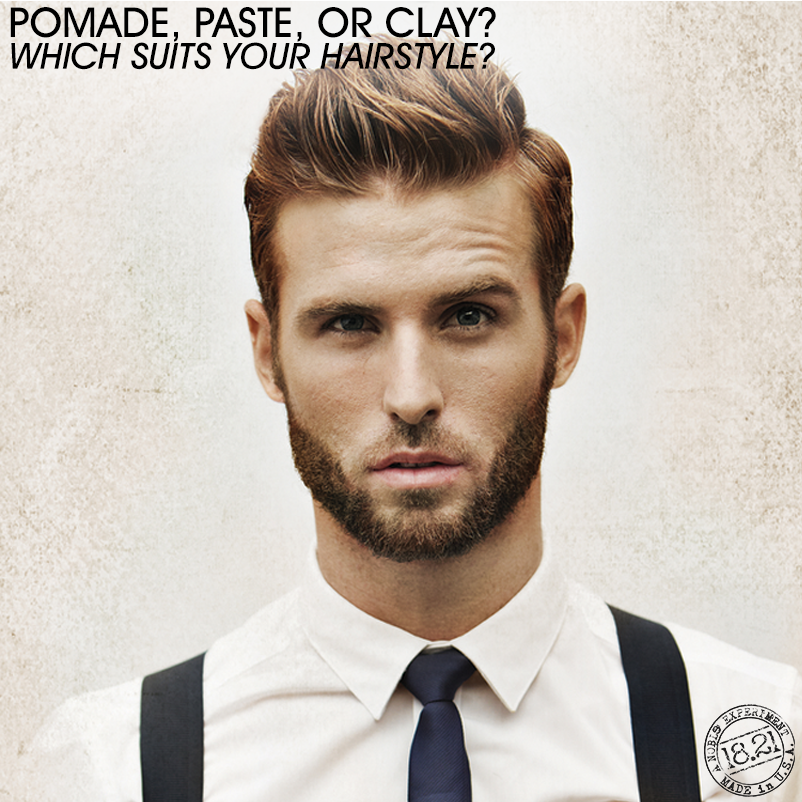 Pomade, Paste, or Clay? Which Suits Your Hairstyle? - Bangstyle