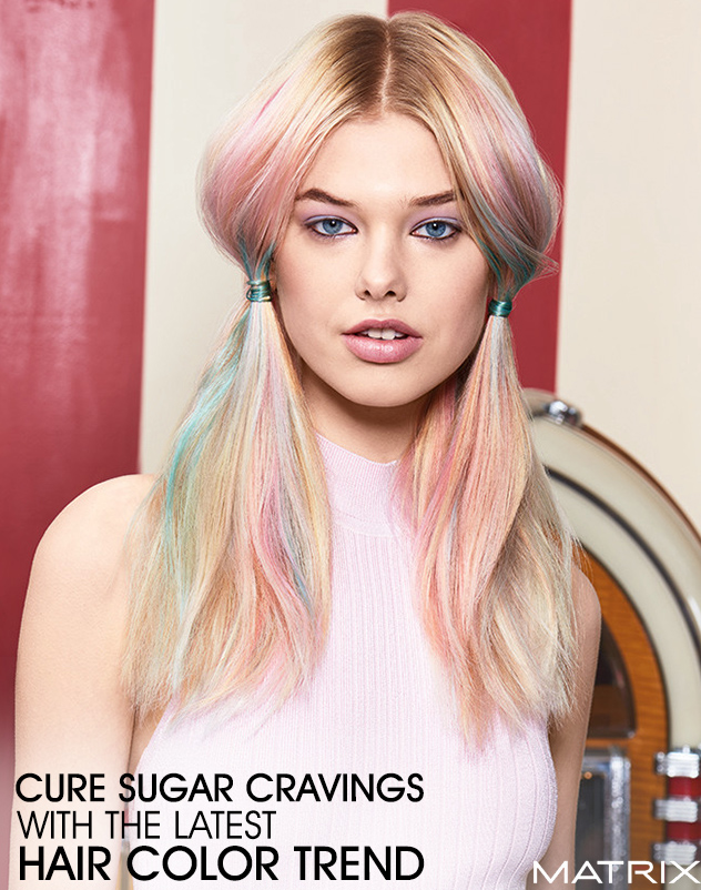 Cure Sugar Cravings With The Latest Hair Color Trend Bangstyle