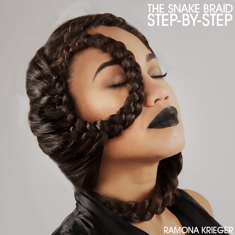 snake braid steps the snake braid step by step ramona