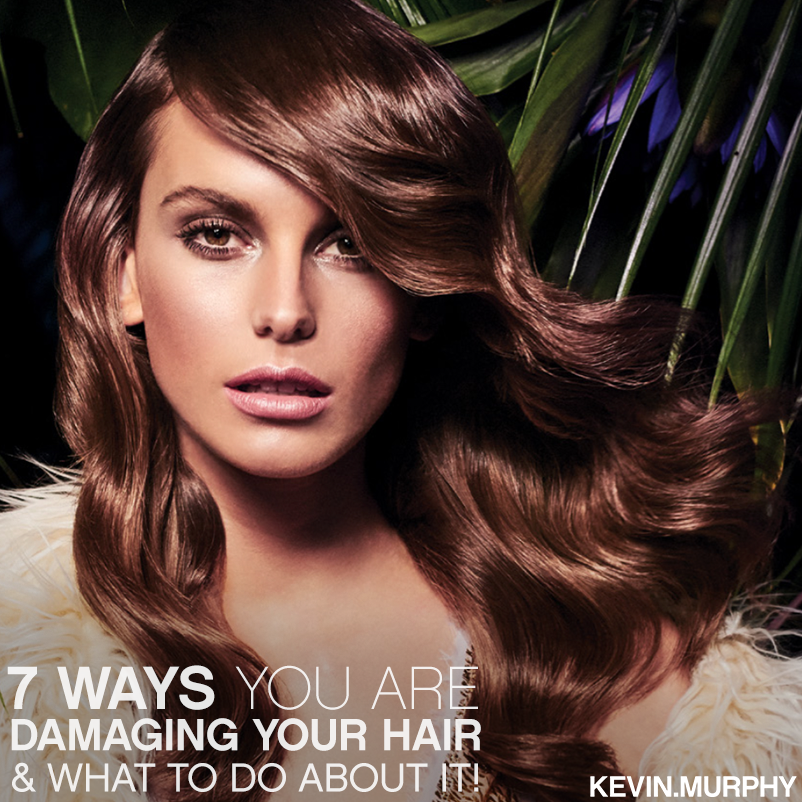 7 Ways You Are Damaging Your Hair