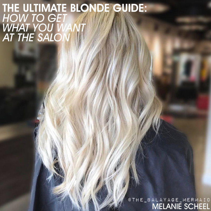 The Blonde Guide How To Get What You Want At The Salon Bangstyle