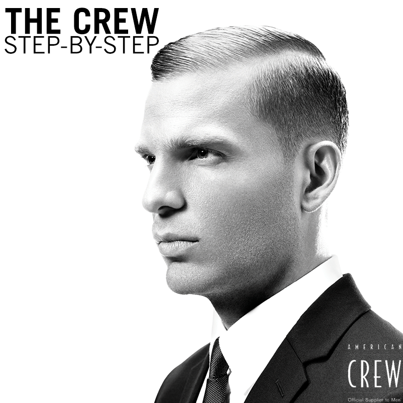 The Crew Step By Step American Crew Bangstyle