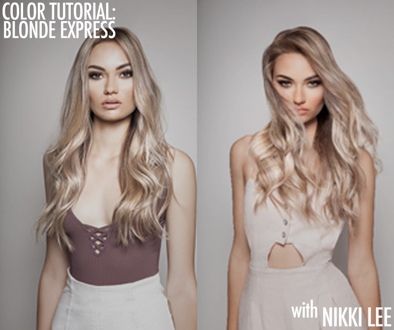 Be60d5601a62a9dd53b6 blonde tutorial nikki lee