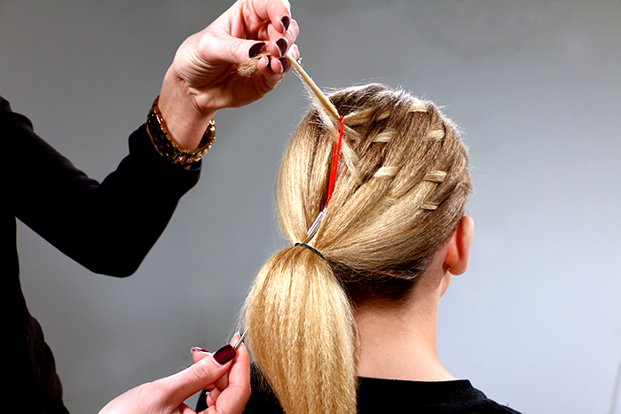 How To Basket Weave Dr Hair Styling Co Bangstyle