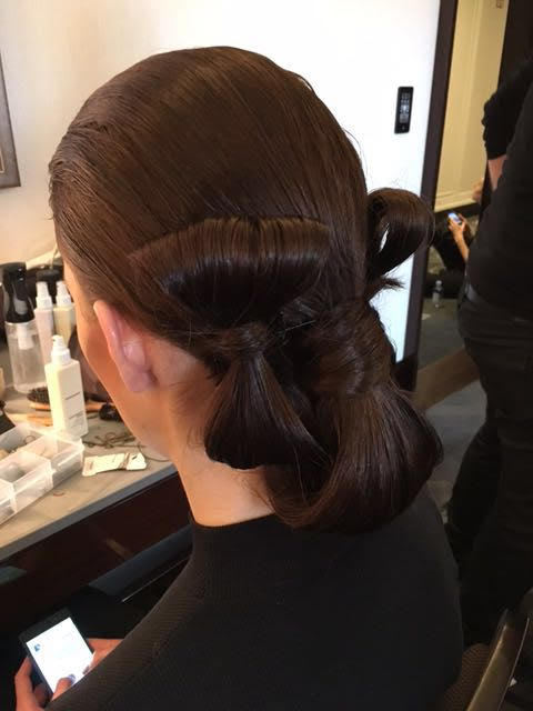 Hair at Paris Fashion Week 2016, Bowie Wong Haute Couture Show