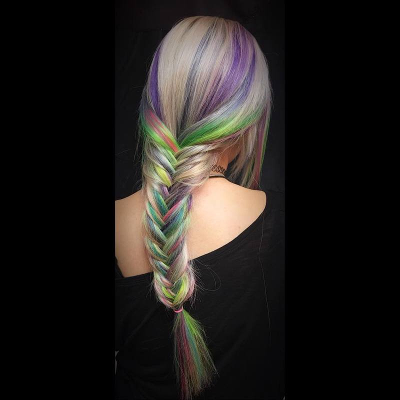 Opal Hair Color How To, The Unicorn Tribe