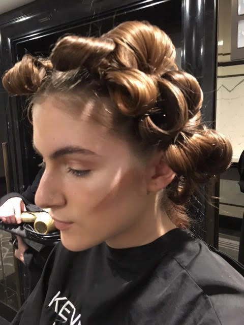 Hair at the Bowie Wong Haute Couture Show, Paris Fashion Week 2016