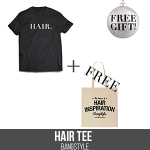 HAIR Tee, and Free Tote Bag, Bangstyle