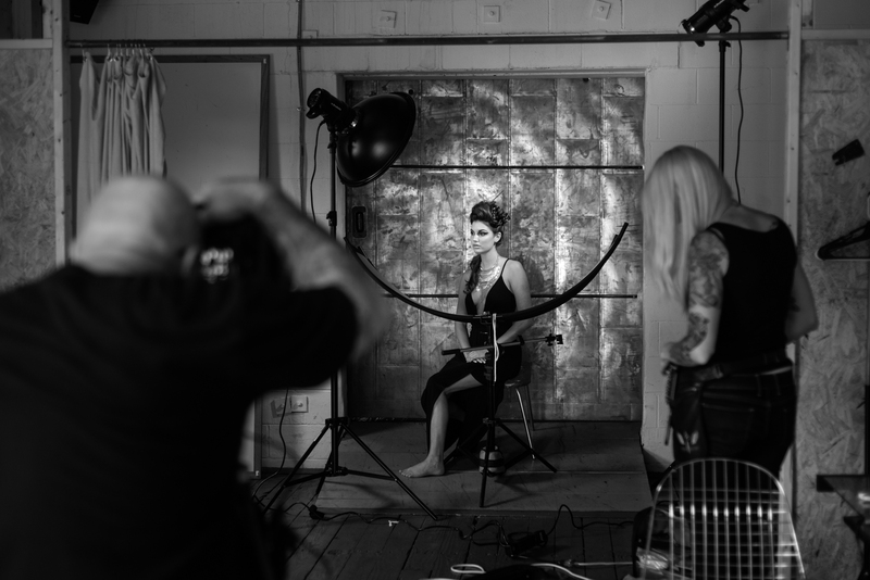 Photoshoot, Behind The Scenes