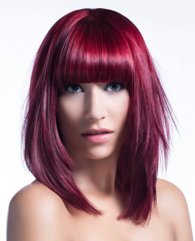 The Top Red Shades To Try Bangstyle