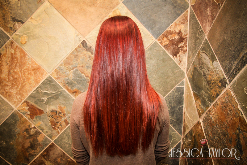 Hair Color Transformation with Continuum