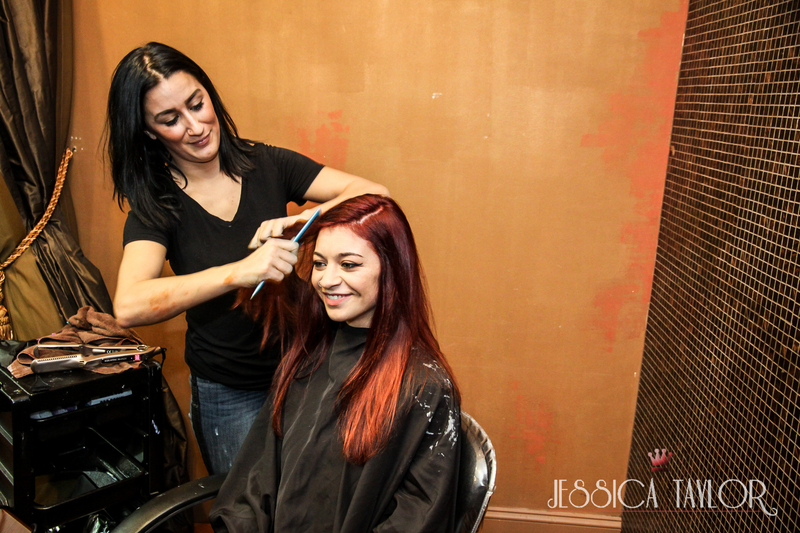 Hair color transformation with Continuum by DS Laboratories