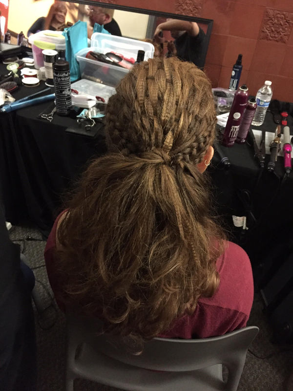 How to do a basket weave in hair : Basket weaving step by amanda epstein bangstyle