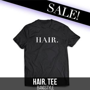 HAIR. Tee on Sale, Bangstyle