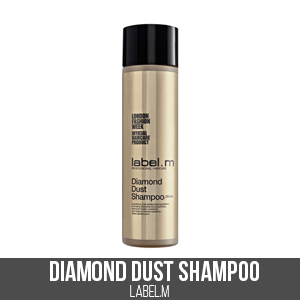 Product Picks, Diamond Dust Shampoo, label.m