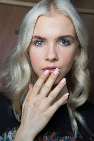 Erin Fetherston NYFW 2016, nail trends