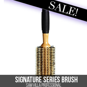 Boar Bristle Brush on Sale,Sam Villa Professional