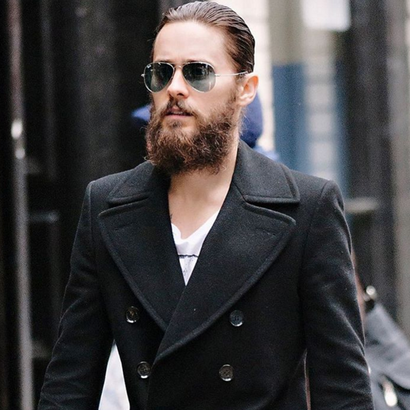 Slicked Back Styles, Men's Trends 2016, Jared Leto