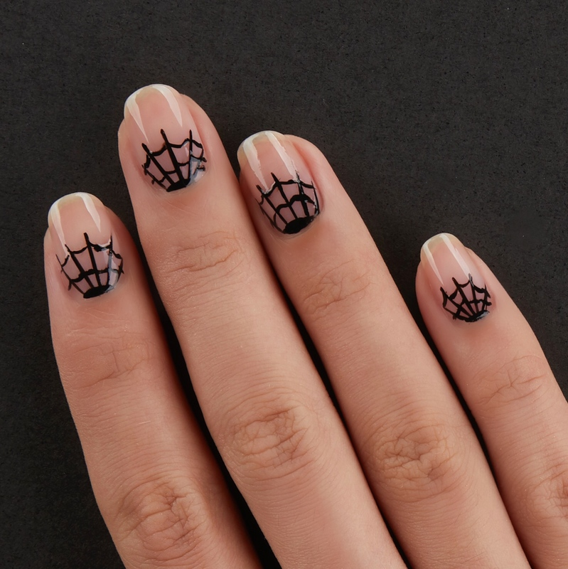 Creepy Cobwebs: Halloween Nail Art - Nailstyle - House of ...