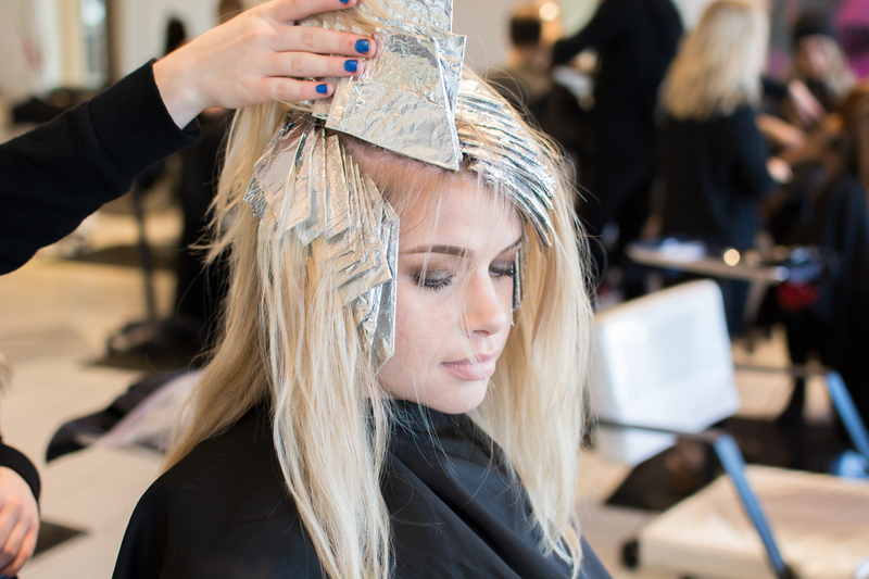 Hair Tutorial, Foil Placement
