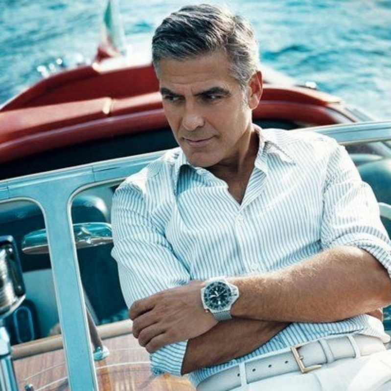 George Clooney, Short and Shaggy Men's Trends 2016