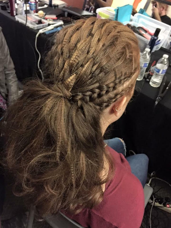 Hair Style Ideas, Basket Weave Up Do