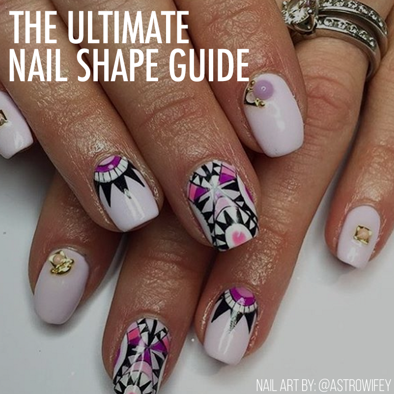 The Ultimate Nail Shape Guide! - Nailstyle