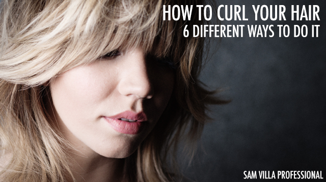 how to style hair for how to curl your hair 6 different ways to do it bangstyle 3536