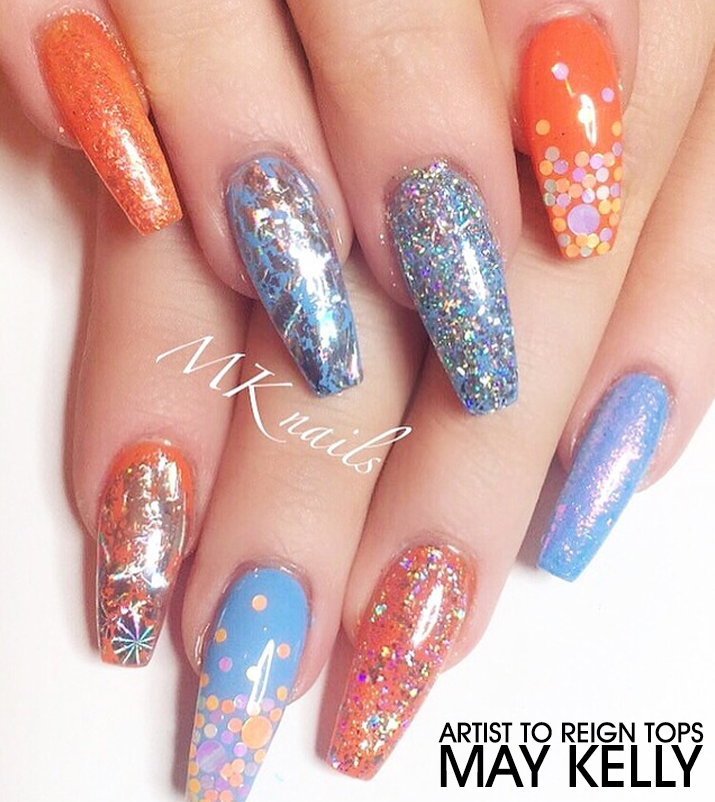 Artist To Reign Tops - May Kelly - Nailstyle