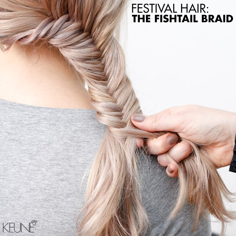 Festival Hair: The Fishtail Braid - Bangstyle - House of ...