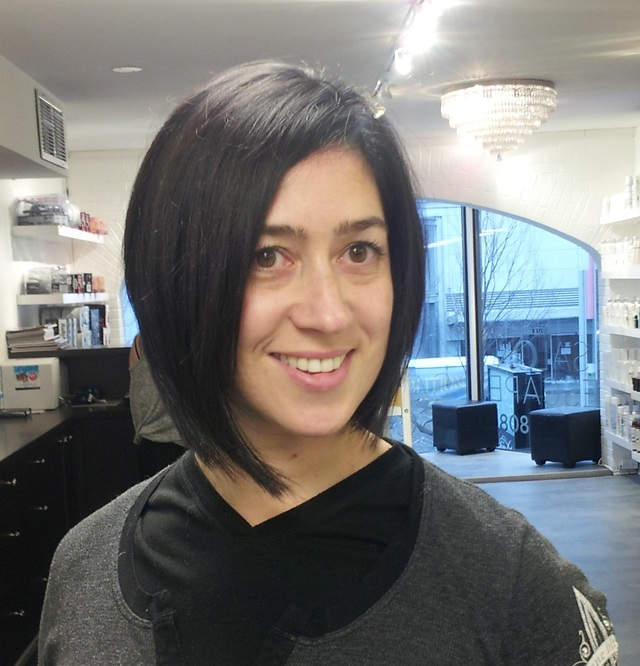 New Asymmetrical Bob