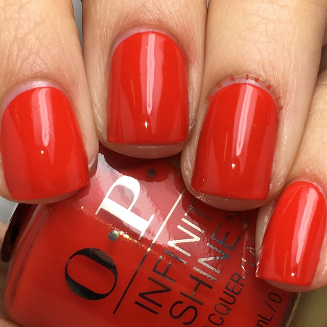 OPI Infinite Shine Can't Tame a Wild Thing