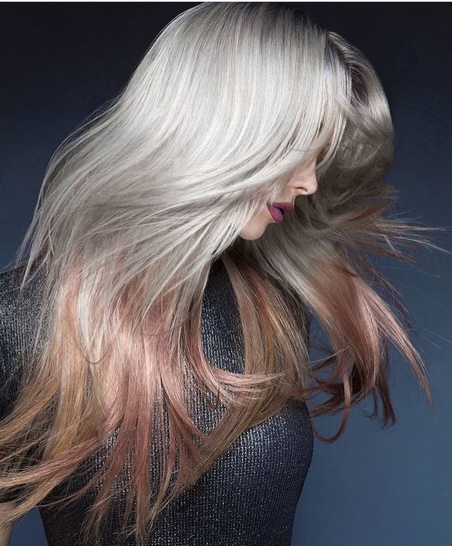 pink-champagne-hair-color