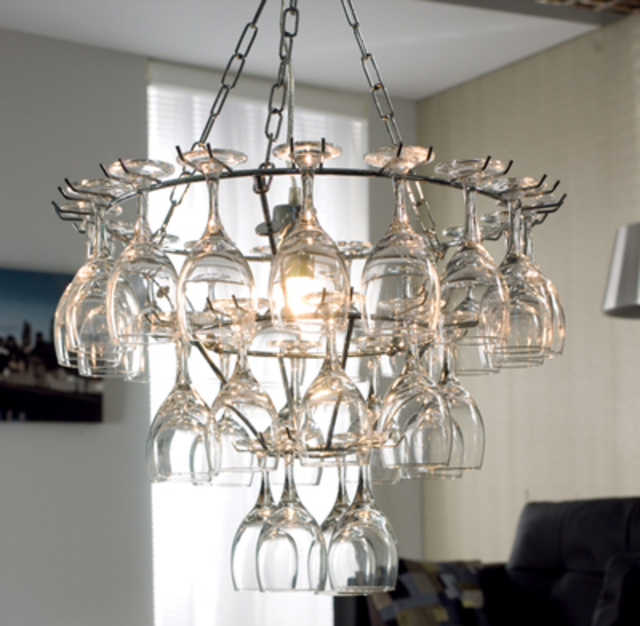 Wine-glass-chandelier