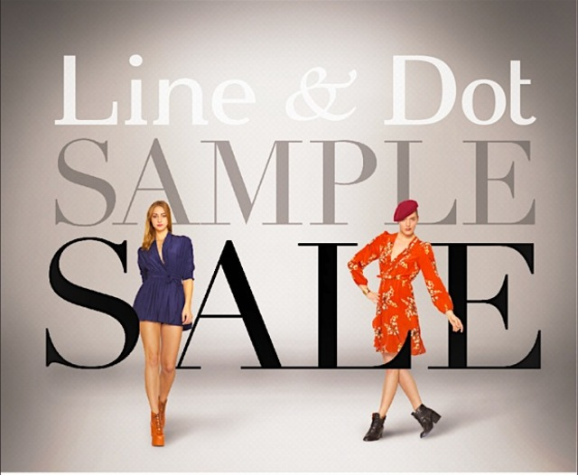 linedot sample sale