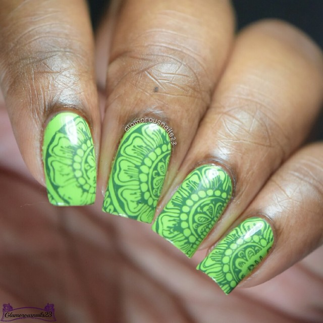 Crumpet's Nail Tart's Day 31 - Green Freestyle