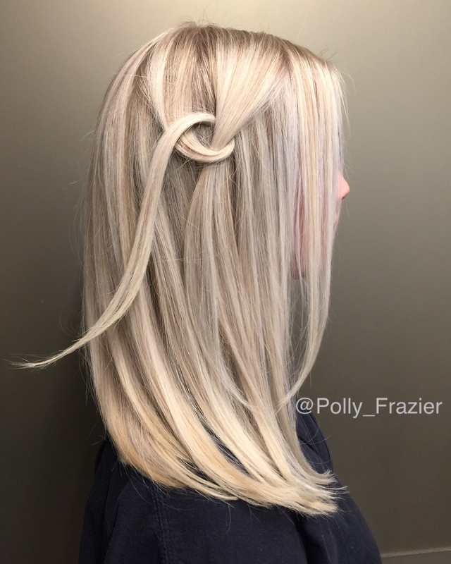 40 volume bleach foil add Romax, shampoo lightly, RoZen blown into the hair take-home Rotopia