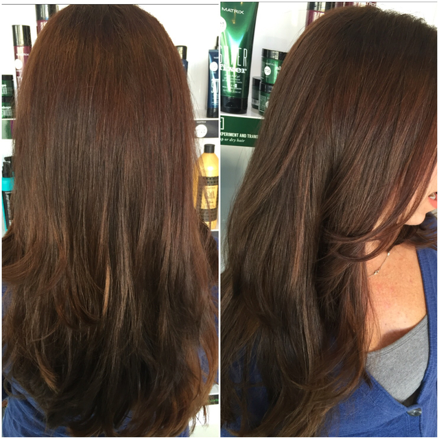 Chocolate brunette for fall