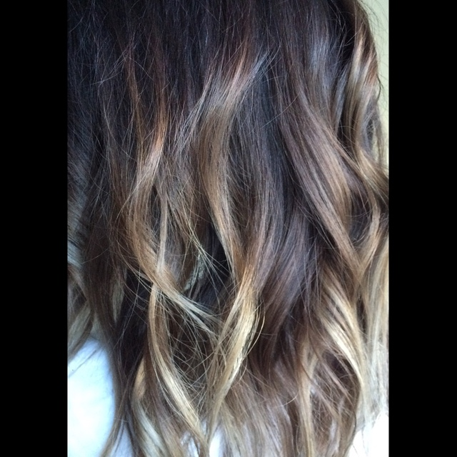 Love this ashy ombré