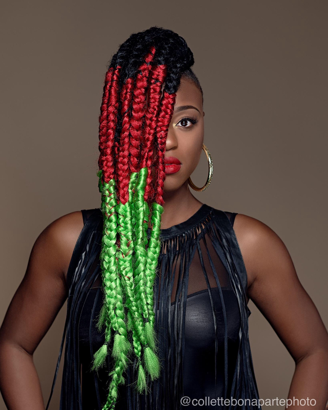 Multi Color Box Braids