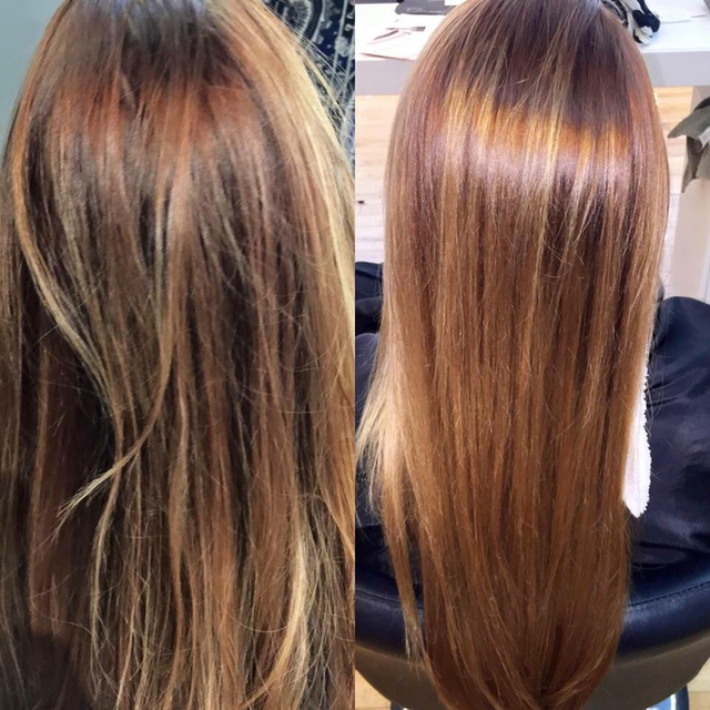 Before and After- 20minute Stand alone continuum treatment. No color!!!