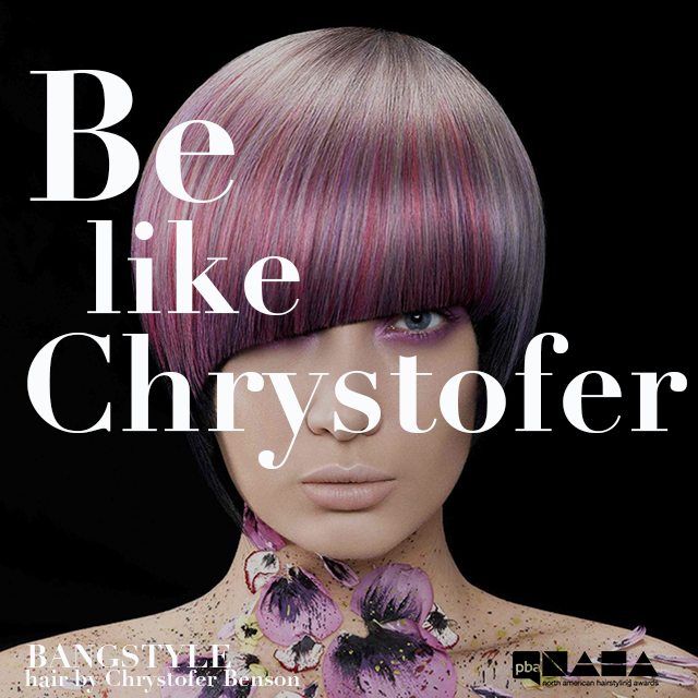Be like Chrystofer Benson 2014 NAHA Avant Garde Finalist, ... Enter NAHA 2015!