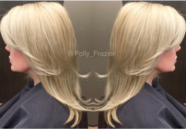 Beautiful Creamy Blonde Tons Of Foil 40 Volume Bleach With Romaxx