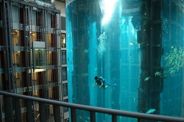 AquaDom-at-Radisson-Blu-Hotel-Germany-Worlds-Largest-Cylindrical-Aquarium-3