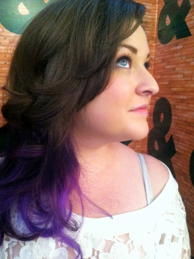 Violet Ombre by Laura Masson