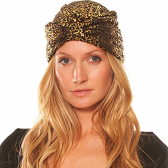 Our Prince of Peace Sequin Turban