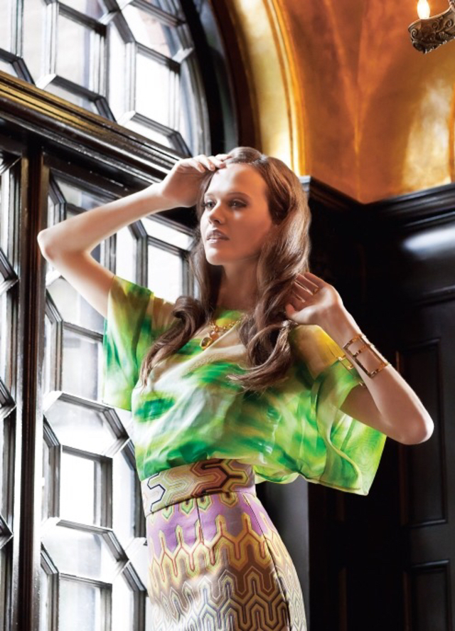 Boston home fashion shoot  Photo Bob Packert  Make up Maryelle Orouke  Model Abba