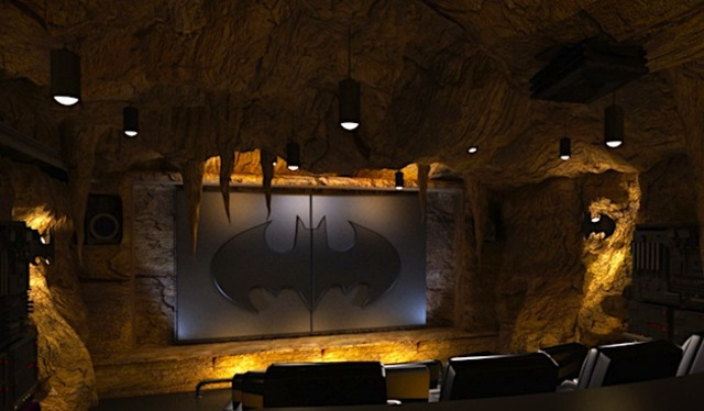 Batman Batcave Home Theater